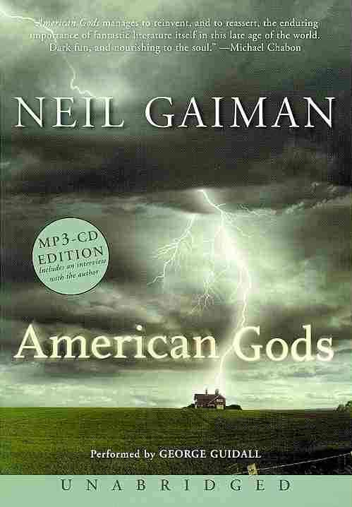 [CD] American Gods By Gaiman, Neil/ Guidall, George (NRT)
